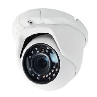 "OP-VC-CA-31D-638 Analog-960H/HD-(SDI+CVI) 1080P/2MP 3-IN-1 Dome Camera 1/3"" CMOS EYENIX 2.8~12mm 36IR-LED @ 98ft White"