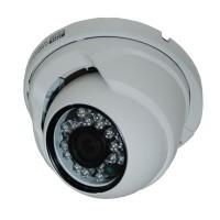 OP-VC-CA-HDDIR-168 HD-SDI, 2MP, Small IR Dome, 3.6mm, 23 IR LED @ 65ft, CMOS, ICR, OSD, 12vDC, White
