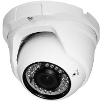 "OP-VC-CA-HDDIR-638 HD-SDI, 2MP, Large IR Dome, 2.8-12mm, 1/3"" Sony CMOS, 36 IR LED @ 98ft, ICR, OSD, IP66, 12vDC"