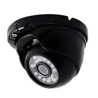 OP-VC-CA-HDDR-168B HD-SDI, 2MP, Small IR Dome, 3.6mm, 23 IR LED @ 65ft, ICR, OSD, 12vDC, Black