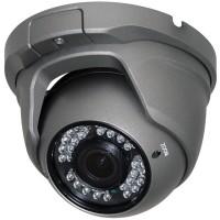 """OP-VC-CA-HDDR-638G HD-SDI, 2MP Large IR Dome, 2.8-12mm, 1/3"""" Sony CMOS, 36 IR LED @ 98ft, ICR, OSD, IP66, 12vDC, Grey"""