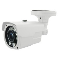 OP-VC-CA-HDTIR-432 HD-SDI 2MP IR Bullet, 2.8-12mm, 7LED+2HighLight LED @ 165ft, ICR, 12vDC, White