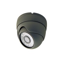 OP-VC-CA-HTDR8010G HD-TVI/Analog-960H 2MP/1080p Small IR Dome, OV2710 CMOS 3.6mm, 23IR-LED at 65ft, IP66, Grey