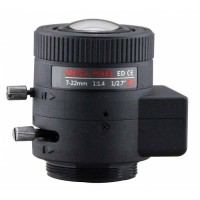 "PVS3M0722DIR-PS 1/2.7"" 2MP 2.8-12mm Auto Iris Day/Night CS-Mount"